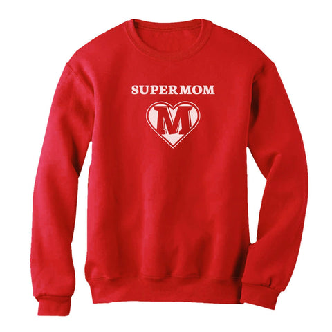 Tstars tshirts Super Mom Women Sweatshirt