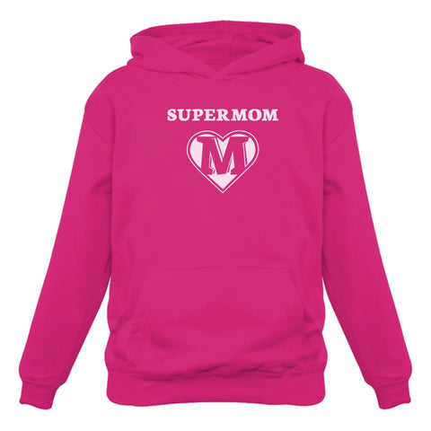 Tstars tshirts Super Mom Women Hoodie