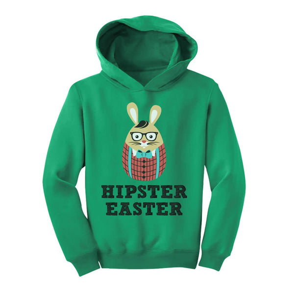 Tstars tshirts Hipster Easter Bunny Toddler Hoodie
