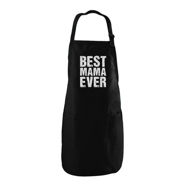 Tstars tshirts BEST MAMA EVER Cute Mother's Day Gift Apron
