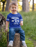 This Is What an Awesome 2 Year Old Looks Like Toddler Jersey T-Shirt