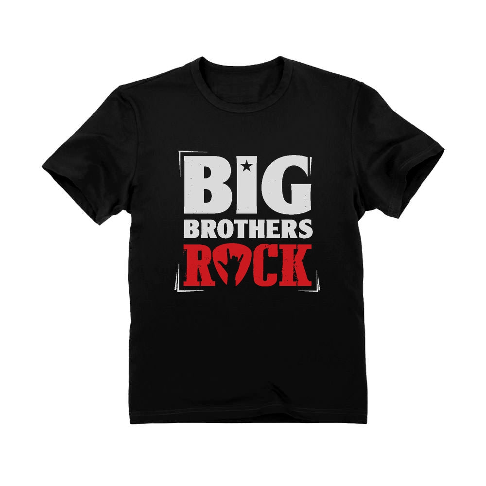 Big Brothers Rock Youth Kids T-Shirt