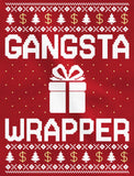 Thumb Gangsta Wrapper Ugly Christmas Sweater Women Long Sleeve T-Shirt