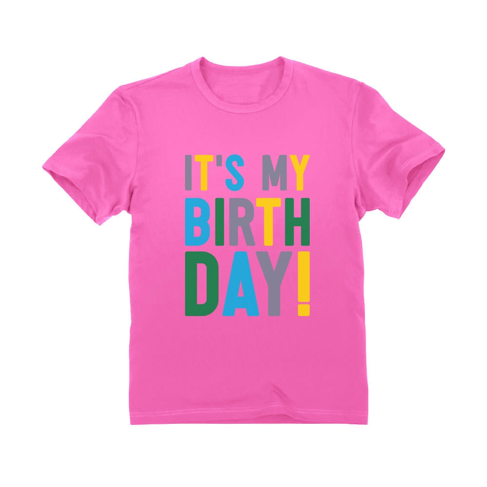 It's My Birthday Cute Bday Party Toddler Kids T-Shirt
