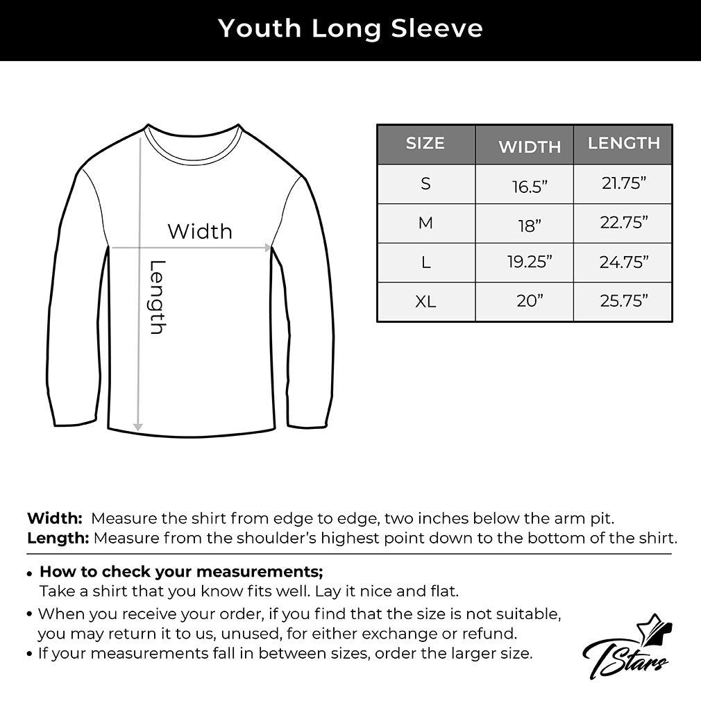 My Heart Dabs for You Funny Valentine's Day Youth Kids Long Sleeve T-Shirt - Red