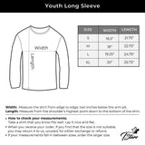 Thumbnail My Heart Dabs for You Funny Valentine's Day Youth Kids Long Sleeve T-Shirt Red