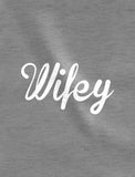Hubby & Wifey Matching Couples Raglan Shirt Set - Husband & Wife Valentine's Day