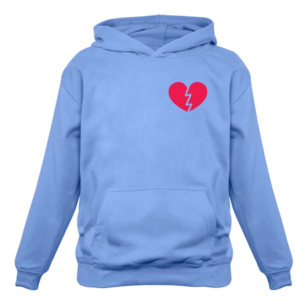 Broken Heart Singles / Valentine's Day Pocket Hoodie