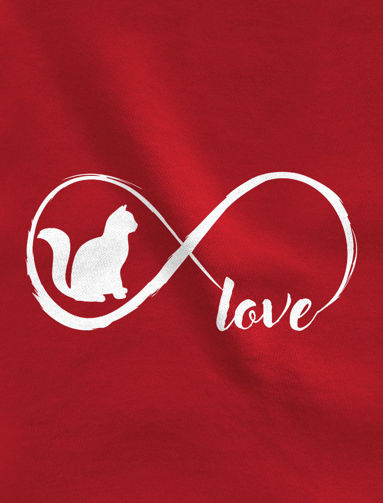 Infinite Love - Gift for Cat Lovers Women Tank Top
