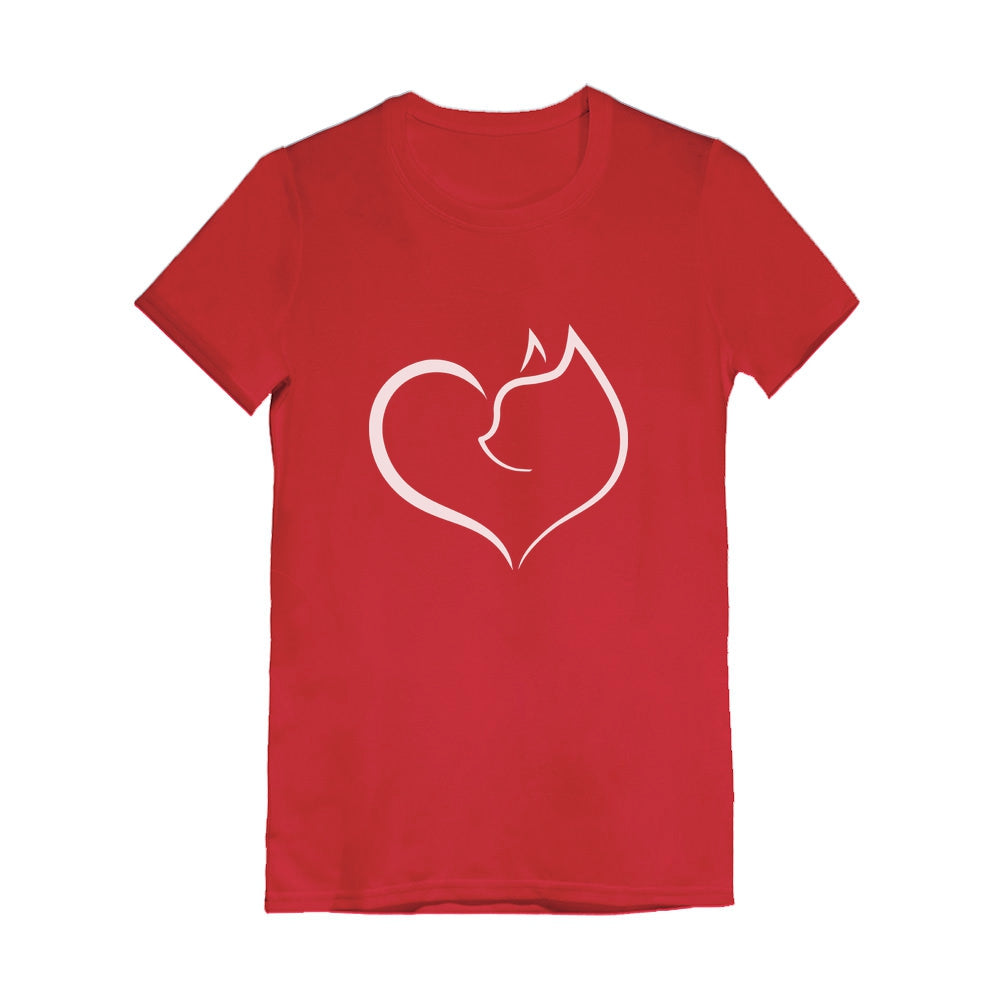 Infinite Love Cat - Gift for Cat Lovers Youth Kids Girls' Fitted T-Shirt