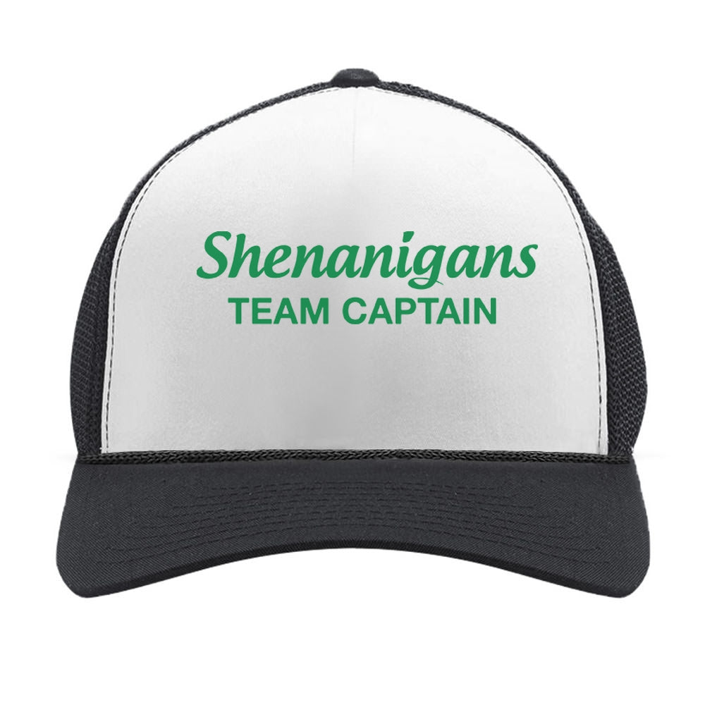 Cool Shenanigans Team Captain St. Patrick Trucker Hat Mesh Cap