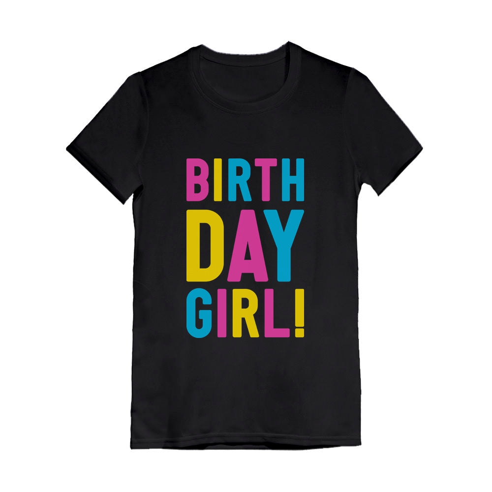 Birthday Girl - It's My Birthday Youth Kids Girls' Fitted T-Shirt