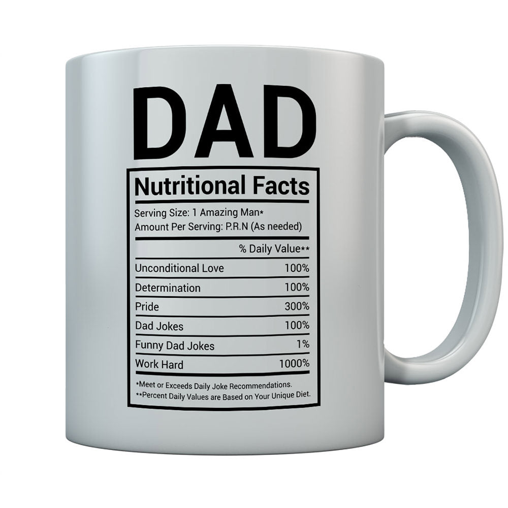 Dad Nutritional Facts Father's Day Coffee Mug
