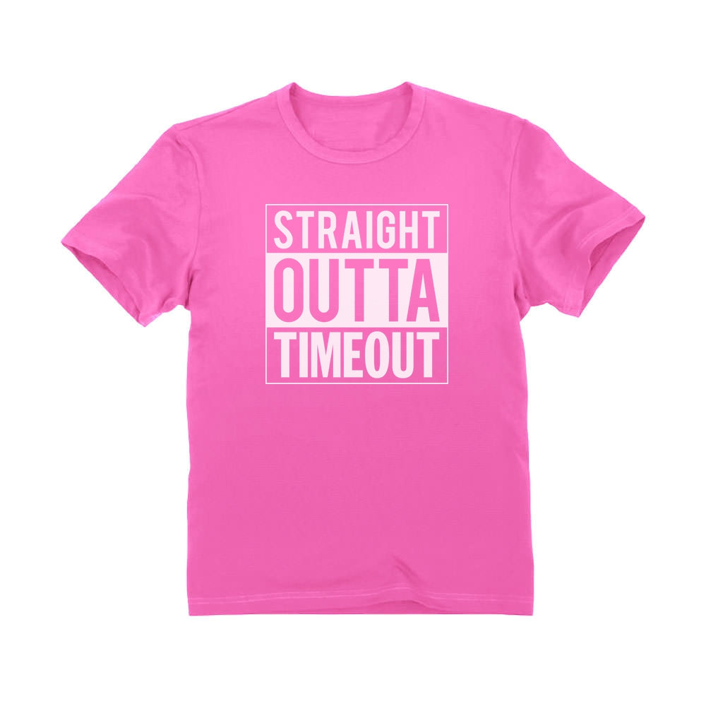 Straight Outta Timeout Toddler Kids T-Shirt