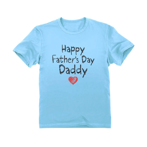 Tstars tshirts Happy Father's Day Daddy Toddler Kids T-Shirt