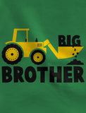 Big Brother Tractor Boys Toddler Hoodie