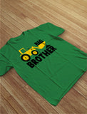 Big Brother Tractor Boys Toddler Kids T-Shirt