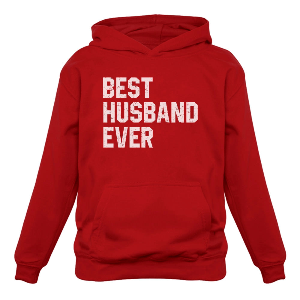 BEST HUSBAND EVER Hoodie - Red