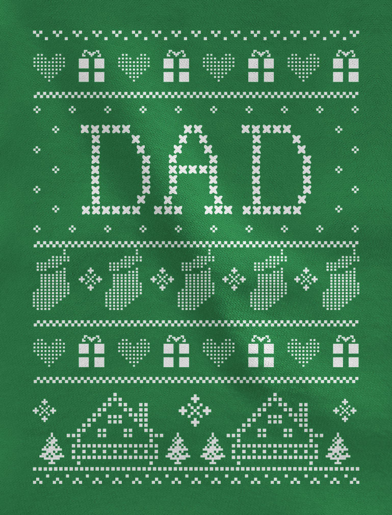 Dad's Ugly Christmas Sweater Sweatshirt