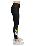 Love Tennis Leggings for Women Teen Girls Gift for Tennis Player Leggings