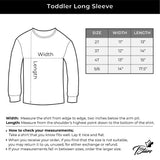 Thumbnail T-Rex Christmas Gift Dinosaur Ugly Xmas Toddler Kids Long sleeve T-Shirt Black