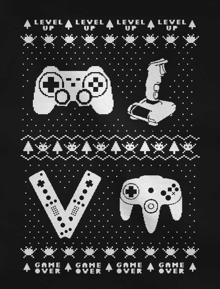 Gamer Retro Ugly Christmas Youth Sweatshirt