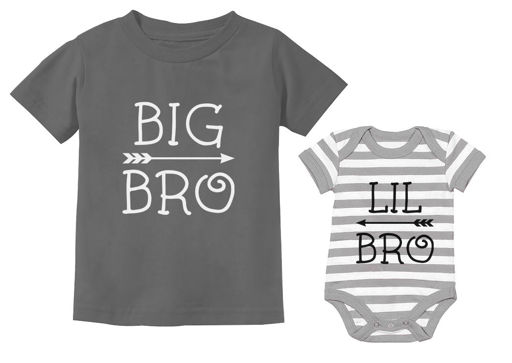 Big Bro Little Bro Shirts Big Brother Little Brother Boys Matching Outfits