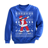 Dabbing Santa Funny Ugly Christmas Party Youth Sweatshirt