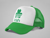 Irish - St. Patrick's Day Shamrock Clover Trucker Hat Mesh Cap