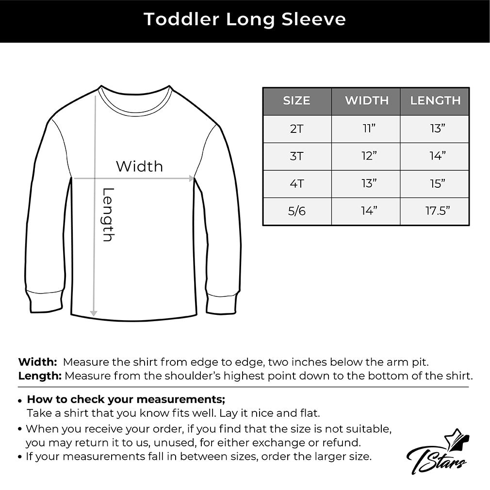 I Love You This Much T-Rex Toddler Kids Long sleeve T-Shirt