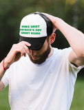 Make St. Patrick's Day Great Again Trump Trucker Hat Mesh Cap