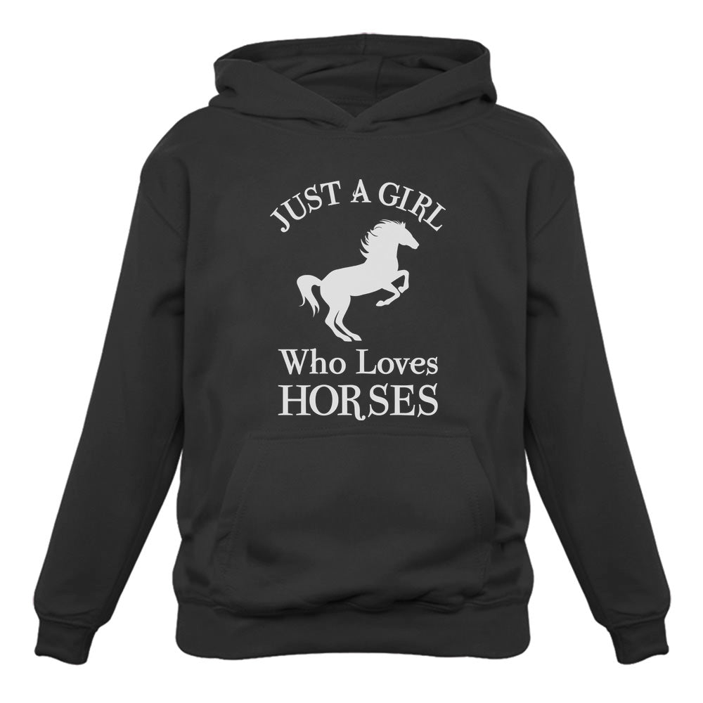 Just A Girl Who Love Horses Women Hoodie