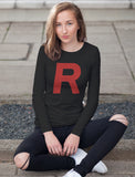 Rocket - Anime Inspired Women Long Sleeve T-Shirt