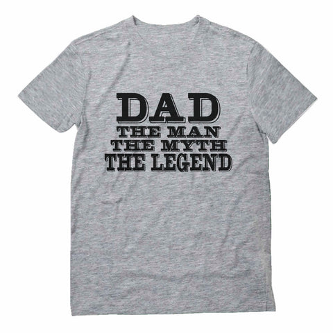 Tstars tshirts Dad The Legend Best Fathers Day Gift For Legendary Dads T-Shirt