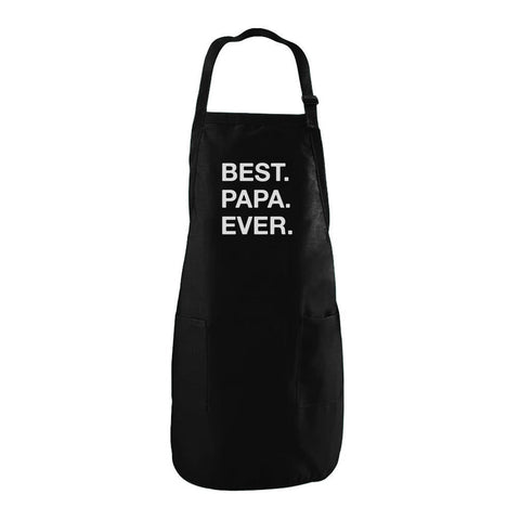 Tstars tshirts Father's Day BEST. PAPA. EVER. Apron