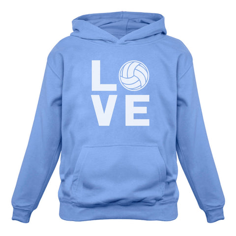Tstars tshirts Love Volleyball - Gift Idea for Volleyball Fans Women Hoodie