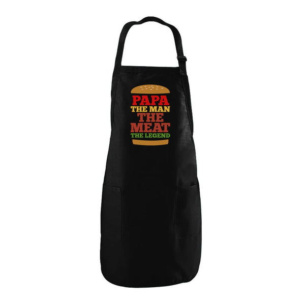 Tstars tshirts PAPA The Man The Meat The Legend Apron