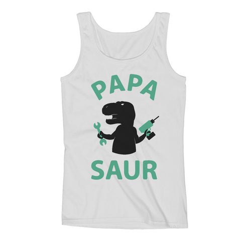 Tstars tshirts Papa - Saur Men's Tank Top