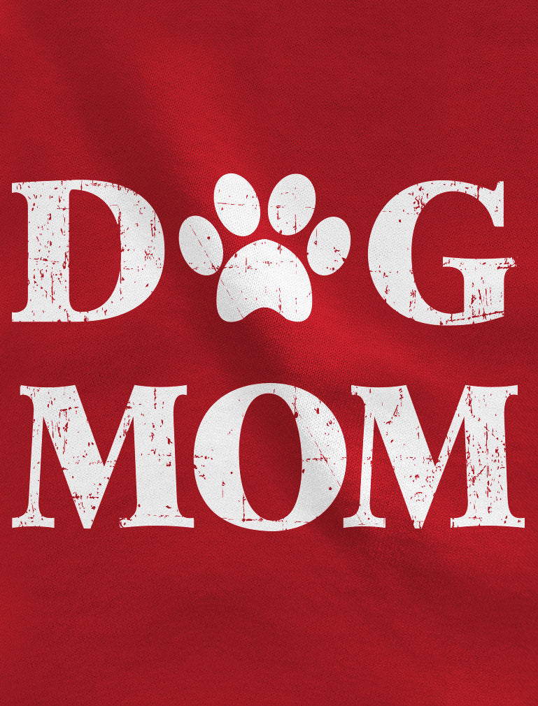 Dog Mom Women Football Jersey T-Shirt - blue/white