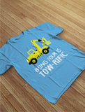 Being 4 Is Tow-Rific Birthday Gift Toddler Kids T-Shirt