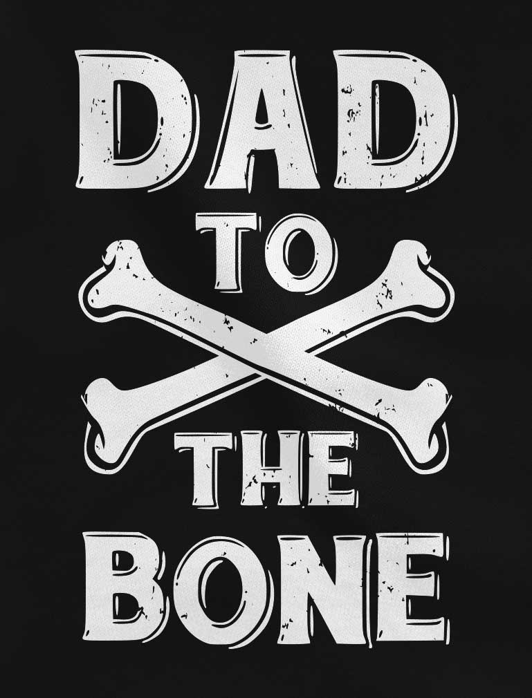 Dad To The Bone Football Jersey T-Shirt