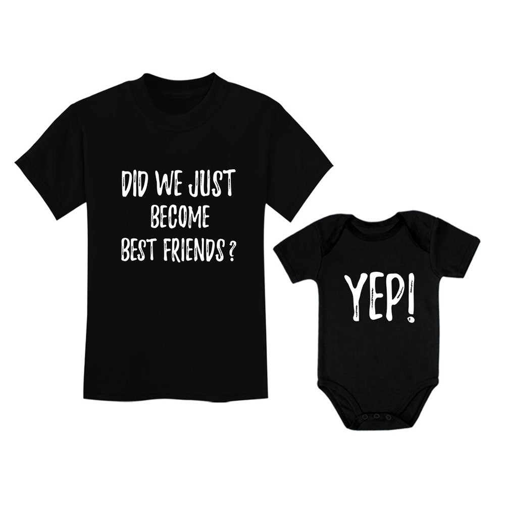 Big Brother/Sister Little Bro/Sis Set Funny Gift For Siblings Baby & Toddler