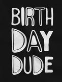 Birthday Dude Toddler Hoodie