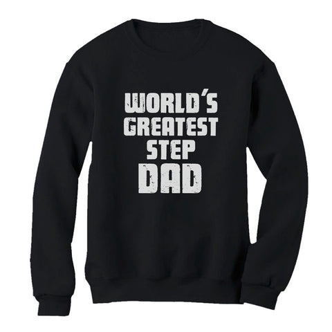 Tstars tshirts World's Greatest Step Dad Sweatshirt
