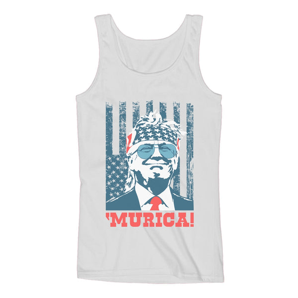 Tstars tshirts Donald Trump Murica Women Tank Top
