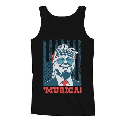 Tstars tshirts Donald Trump Murica USA Men's Tank Top