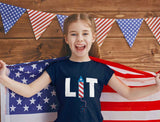 LIT 4th Of July Toddler Kids T-Shirt