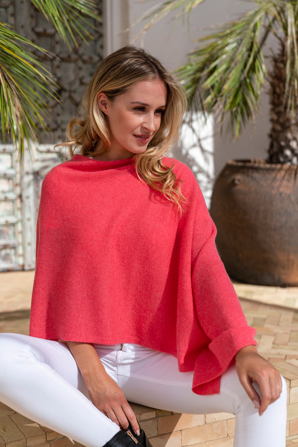 Coral Reef Cashmere Topper and The Barrier Reef Organisation