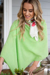 Green Apple Cashmere Topper