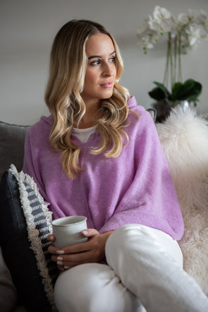 Wild Orchid Cashmere Topper